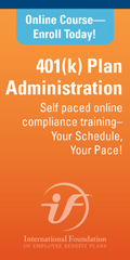 Online Learning Course: 401(k) Plan Administration