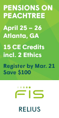 Pensions on Peachtree -- April 25-26 -- Atlanta, GA
