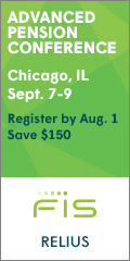 Advanced Pension Conference � Sept. 7-9, 2016