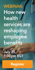 Webinar: How new health services are reshaping employee benefits