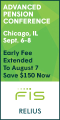 Chicago Advanced Pension Conference -- Sept 6-8