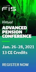 Virtual Advanced Pension Conference, Jan 26-28, 2021