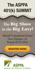 The ASPPA 401(k) SUMMIT - Bigger and Better in New Orleans!