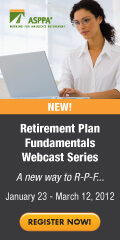 Retirement Plan Fundamentals Webcast Series: A new way to R-P-F!