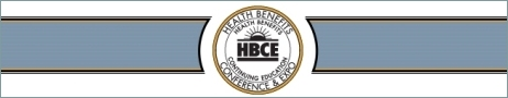 Banner ad for 17th Annual Nat'l Health Benefits Conference & Expo (HBCE)