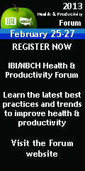 Register Today!  2013 IBI/NBCH Health & Productivity Forum  Dallas, Texas February 25-27, 2013
