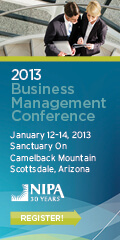 Learn the definition of business success at NIPA's 2013BMC