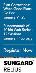 SunGard's Relius new education programs in January-February 2013.
