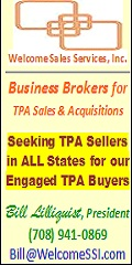 Welcome Sales Services, Inc. Seeks TPA Sellers for Our TPA Buyers