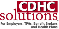 Banner ad for CDHC Solutions