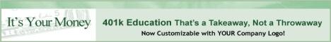 Banner ad for 401khelpcenter.com