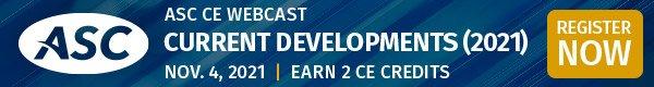 ASC Learn & Earn CE Credit Webcast - November 4