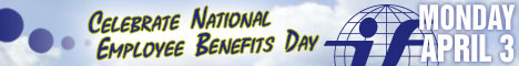 Banner ad for The International Foundation