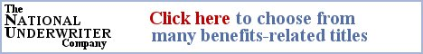 Banner ad for The National Underwriter Company
